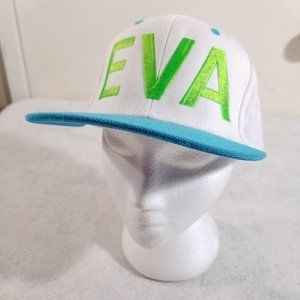 EVA Personal Giant Name Spellout Wool-Blend Hat